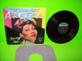 "ARETHA FRANKLIN Jimmy Lee / Aretha Mega Mix Vinyl 12"" EP Record 1984 TRA... - $10.06"