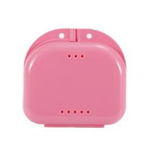 Storage box Denture Bath Box Case Dental False Teeth Storage Box with Ha... - $14.86 CAD