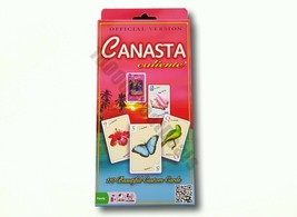 Canasta Caliente by Winning Moves Classic Card Game Illustrated Cards - $18.99