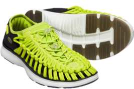 Keen Uneek O2 Taglia US 9 M (D) Eu 42 Uomo Sport Sandali Scarpe Verde Lime Punch