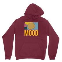 Lebron Mood Shirt LBJ Instagram Arthur Fist Unisex Burgundy Hoodie Sweatshirt - $24.95+