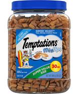 Temptations Mixups Cat Treats, Surfers' Delight, 30 oz. Tub - $20.76+