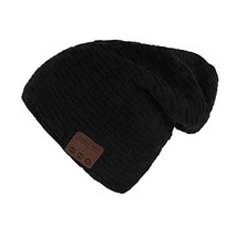 BicycleStore Wireless Hat Bluetooth Beanie Hat Cap With Headphone/Microp... - $30.18