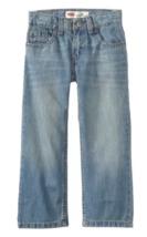 Boys Levi's 505 Straight Fit Denim Jeans LEVI'S 10 Slim - $24.74