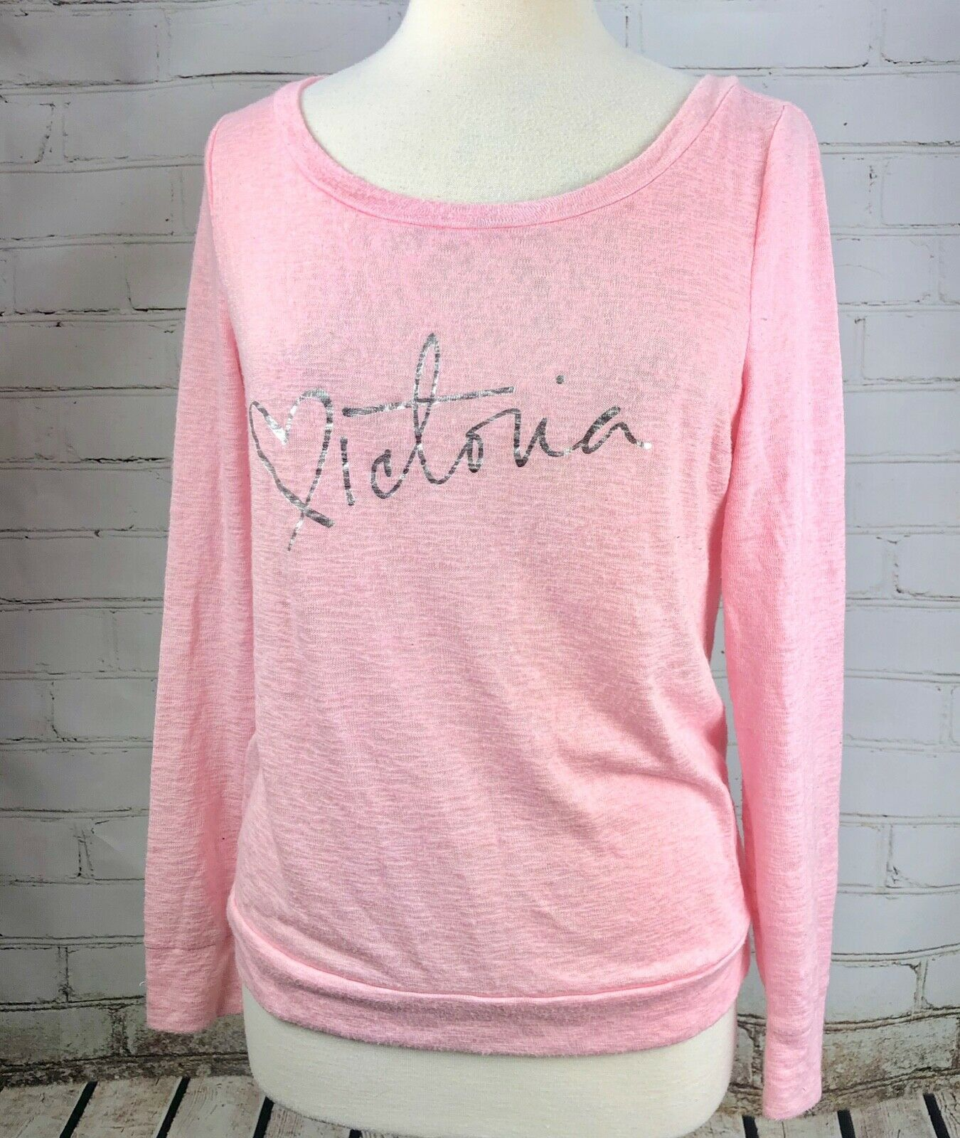7962410815558 Victoria's Secret Wide Neck Sleep Top Long and 50 similar items