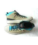 Converse Mens CTAS Street Boot Hi Hiking Boots Khaki Black Rapid Teal Si... - $51.47