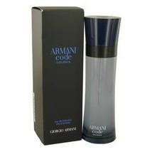 Armani Code Colonia Cologne By Giorgio Armani 4.3 oz Eau De Toilette Spray For M - $107.73