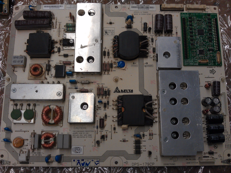 0500-0707-0120 Power Supply Board From Vizio M470SV LAUKJYAM TV