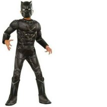 Marvel Captain America Black Panther 3-D Muscle Boot Tops Halloween Costume- L - $29.70