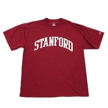Neu Russell Athletic Stanford T-Shirt Erwachsene Größe Groß Rot Kurzärmlig - $18.95