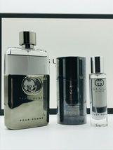 Gucci Guilty Pour Homme Cologne 3.0 Oz Eau De Toilette Spray 3 Pcs Gift Set image 5