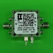 Broadband Low Noise Amplifier 1.4dB NF 2G~18GHz 20dB Gain 13dBm P1dB SMA - $168.29