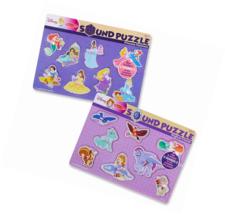 Melissa & Doug Disney Sound Puzzles Set - Princess Pastimes and Magical ... - $24.19