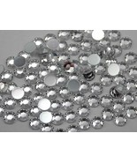 7mm SS34 Crystal Clear .AC Acrylic Rhinestones - 100 PCS - $4.99