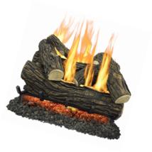 "Pleasant Hearth 24"" Willow Oak Vented Gas Log Set 55,000 BTU's - $220.52"