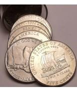 Gemma UNC Rollio (40 Monete) Stati Uniti 2004-D Barca a Chiglia Nichelini - $8.03