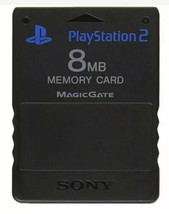 Official Sony PlayStation Two PS2 Memory Card Genuine - $8.15 CAD