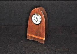 Mercedes Mantle Wooden Clock AB 125 Vintage image 4