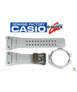 CASIO G-Shock Gulfmaster GWN-1000E-8A White Rubber Watch Band & Bezel Combo - $143.95