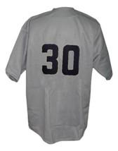Hiroshima Carp Retro Baseball Jersey 1953 Button Down Grey Any Size image 2