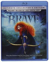 Disney Pixar Brave (Ultimate Collector's Edition: Blu-ray 3D/Blu-ray/DVD, 2012)