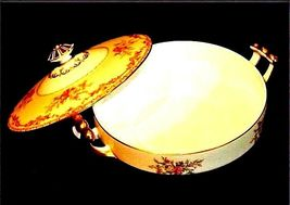 Noritake China Nana Rosa Pattern # 682 Tureen Serving AB 336-G Vintage 2 Piece image 7
