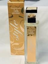 5th Avenue STYLE Eau De Parfum 2.5 Fl Oz/75ml RARE IN BOX Tester 98% Full - $7.91