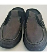 Crocs Womens Walu Mule Fabric Closed Toe Slide Flats, Brown/Black, Size ... - $34.16