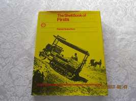 Vintage The Shell Book of Firsts 1974 Robertson - $9.05
