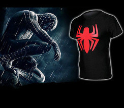 Marvel Spiderman Superhero Short Sleeve T-Shirt Bicycle Jersey Elastic Tight Top - $10.44