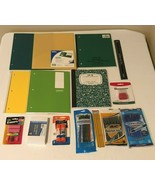 Back to School Supplies Kit Essentials Bundle Lot Grades K-8 Pens Notebo... - $19.99