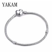 Luxury Brand Fi Original Pandora bracelet Hear Snake Chain Charms bracel... - $10.97