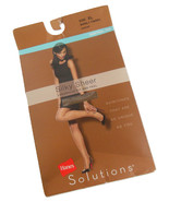 Hanes Solutions Silky Sheer Control Top Pantyhose Hosiery Women XL Barel... - $8.95