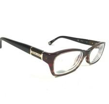 Michael Kors Brown Gold Rectangular Cats Eye Eyeglass Frames MK252 602 50 16 130 - $42.50