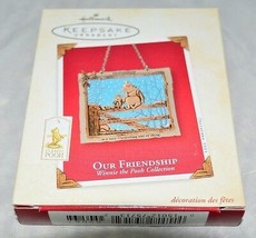 Hallmark 2003 OUR FRIENDSHIP Winnie the Pooh Collection Ornament - $14.85