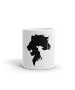 Ceramic Mug Lion Protects Lamb White 11 or 15oz Coffee Mug - $18.99+