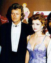 Emma Samms 16x20 Canvas Giclee With Rutger Hauer in Tuxedo Candid 1980's - $69.99