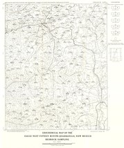 Eagle Nest Quad Bedrock - NM Mines  1967 - 23 x 27.42 - $36.95+