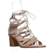 FRYE Brielle Gladiator Dress Sandals, Grey, 9 US - $107.51