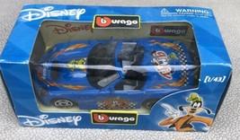 Burago Disney Goofy Shelby Series 1 Blue 1/43 Car - $13.95