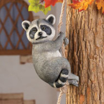 Climbing  Raccoon - $21.50