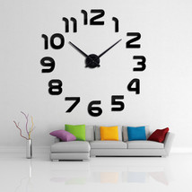 Large Decorative & Stylish Quartz Wall Clock - $49.95