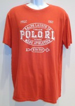 Polo Ralph Lauren Size XL CLASSIC FIT Bistro Red Cotton T-Shirt New Mens... - $58.41