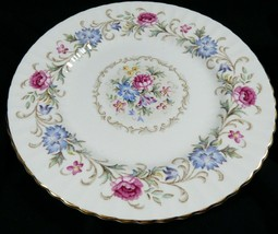 "England Paragon Fine Bone China CHATELAINE Floral Pattern Salad Plate 8"" - $23.76"