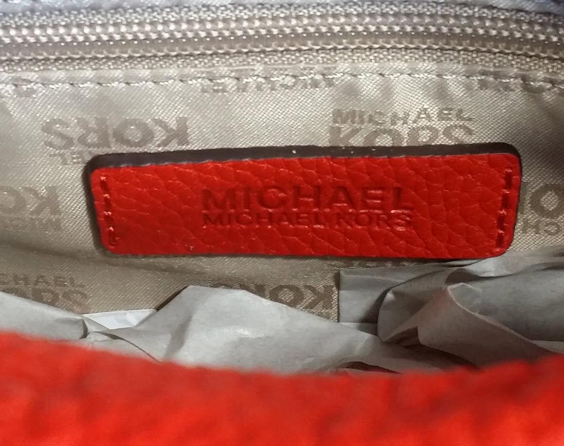 a3625c4edd84 MICHAEL KORS BEDFORD Tassel Satchel Crossbod small 35T7GBFS1L Sienna Red NWT