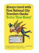 1965 GATLINBURG FIRST NATIONAL BANK CARD-AD FIRST NATIONAL CITY TRAVELER... - $5.93