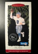 Hallmark Keepsake Christmas Ornament 1996 Troy Aikman Team NFL Football ... - $7.99