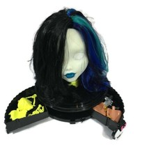 Monster High Just Play Goregeous Ghoul Styling Head White Display Case S... - $34.65