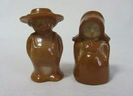 Boyd Glass Eli & Sarah Amish Couple Milk Chocolate B In Diamond - $10.99
