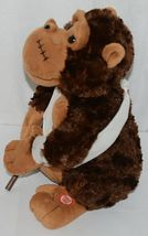 Mills Brand Brown Animated Monkey With Crutch Singing Love Hurts image 4